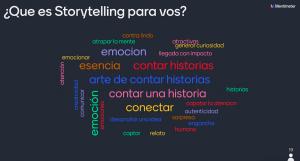 Qué es Storytelling para vos